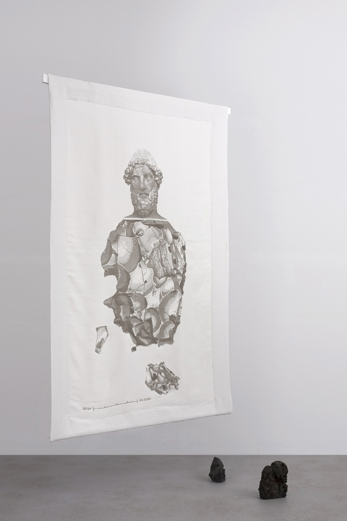 Efesto Textile, from De Natura Fossilium collection, 2014