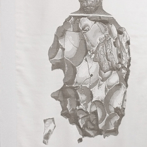 Efesto Textile, from De Natura Fossilium collection, 2014