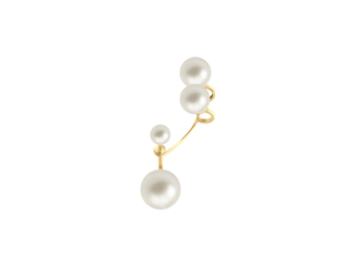 Multipearl Earring, from Gold Vein Fall / Winter 2014 collection, 2014