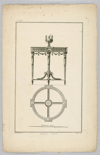 Print, Design for Table