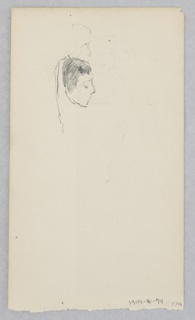 Drawing, Woman