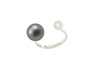 Pearl Piercing Ring, from Gold Vein Fall / Winter 2014 collection, 2014