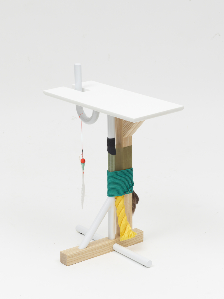 White Side Table, from The Silent Village Collection, 2013