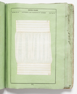 84 pages of text, followed by specimens of plain sewing.