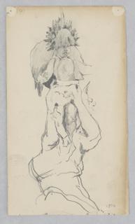 Drawing, Cherub