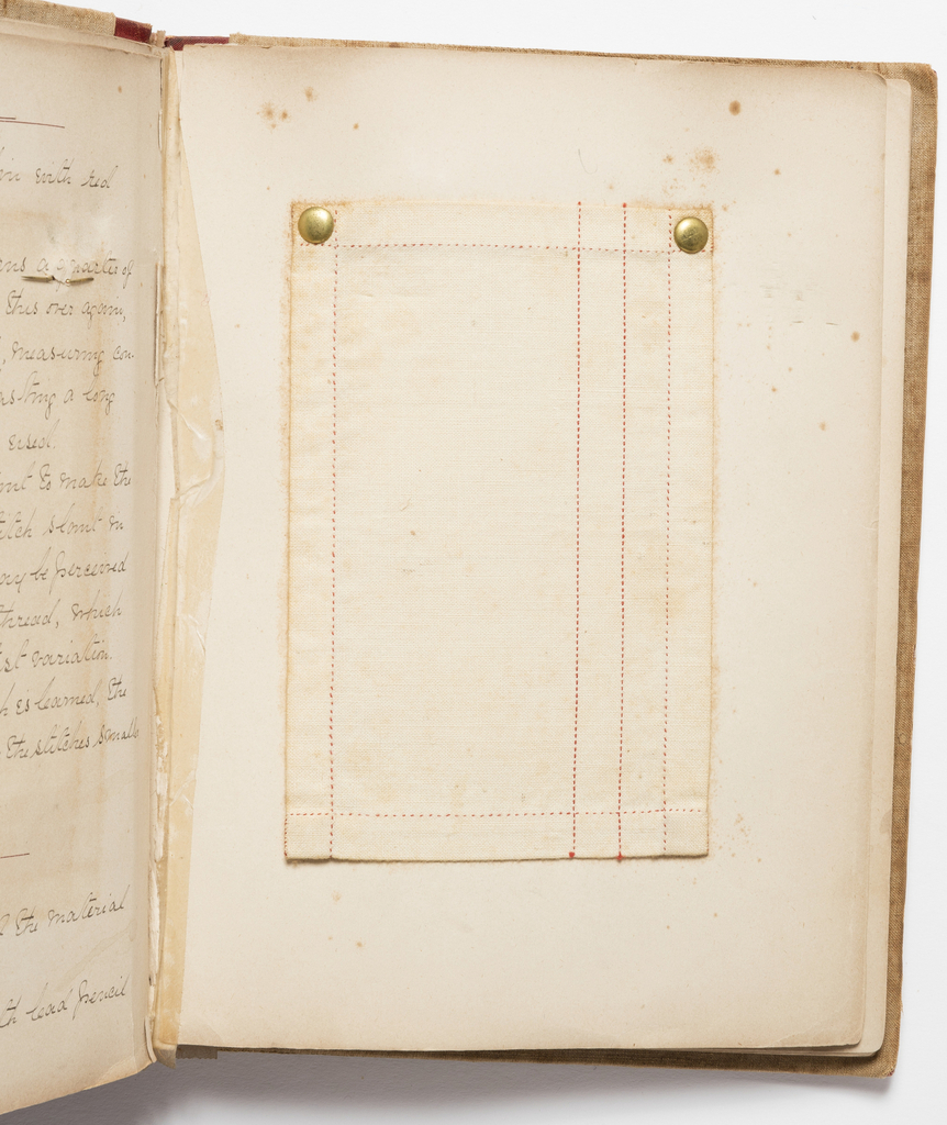 Sewing Instruction Book, Sewing Book, I.E.A., N.Y., 1886
