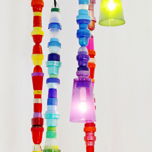 Lamp, from Multiplastica Domestica collection, 2012