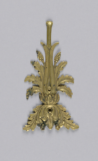 Empire style. Acanthus motif; fragment identical with lower motifs of 1907-1-242 et. seq.