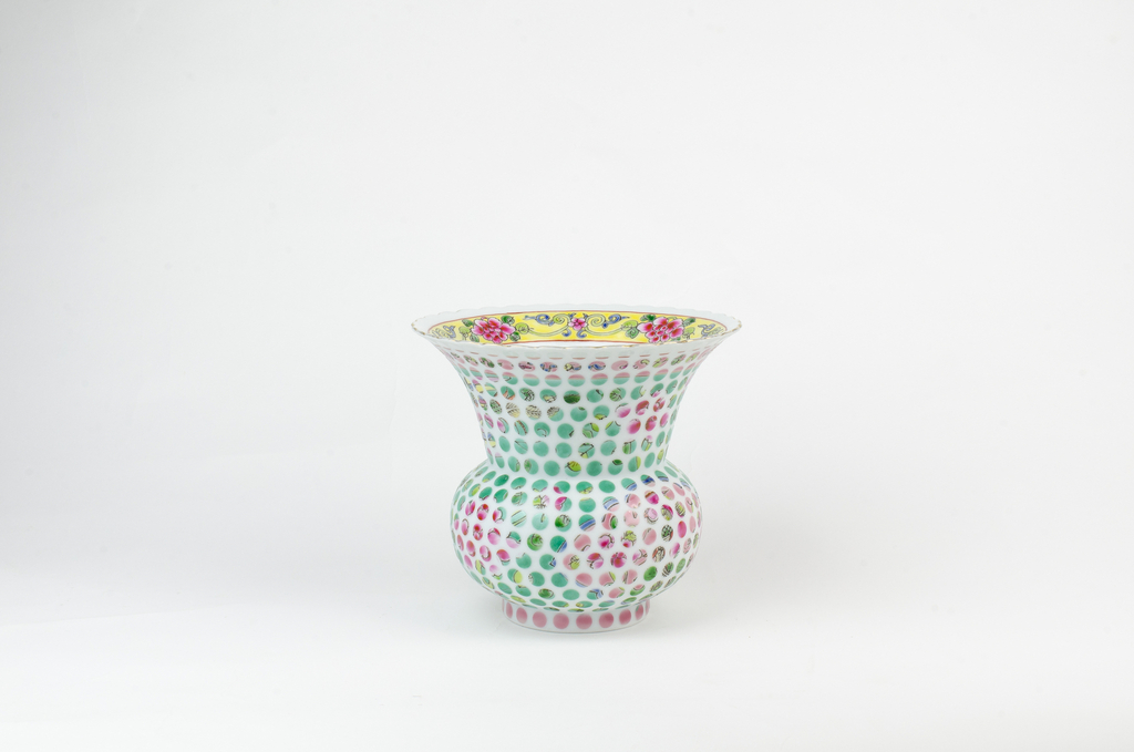Spittoon, from Spotted Nyonya series, 2015