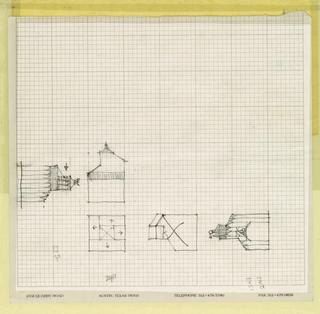 Drawing, Flea Folly, 1990