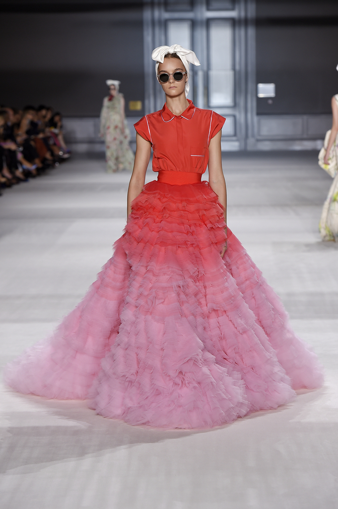Skirt And Top, from Fall / Winter 2014–15 Haute Couture collection, 2014