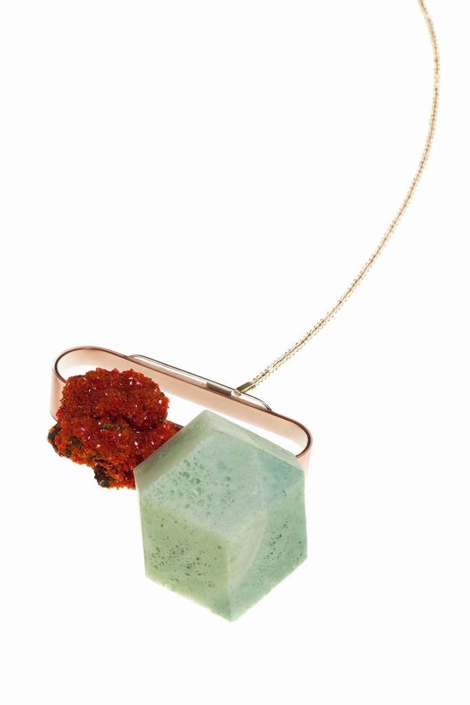 Necklace, Piece 13.1, from How Long Is Now collection, 2015