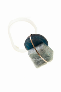 Brooch, Piece 1, from How Long Is Now collection