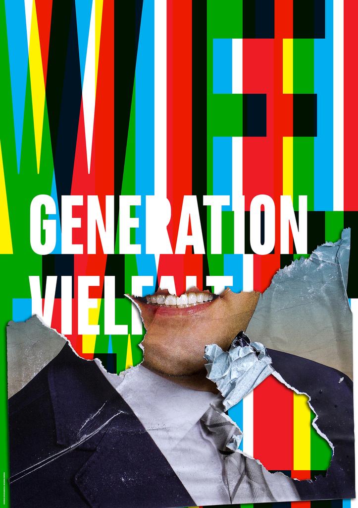 Poster, Generation Vielfalt, 2014