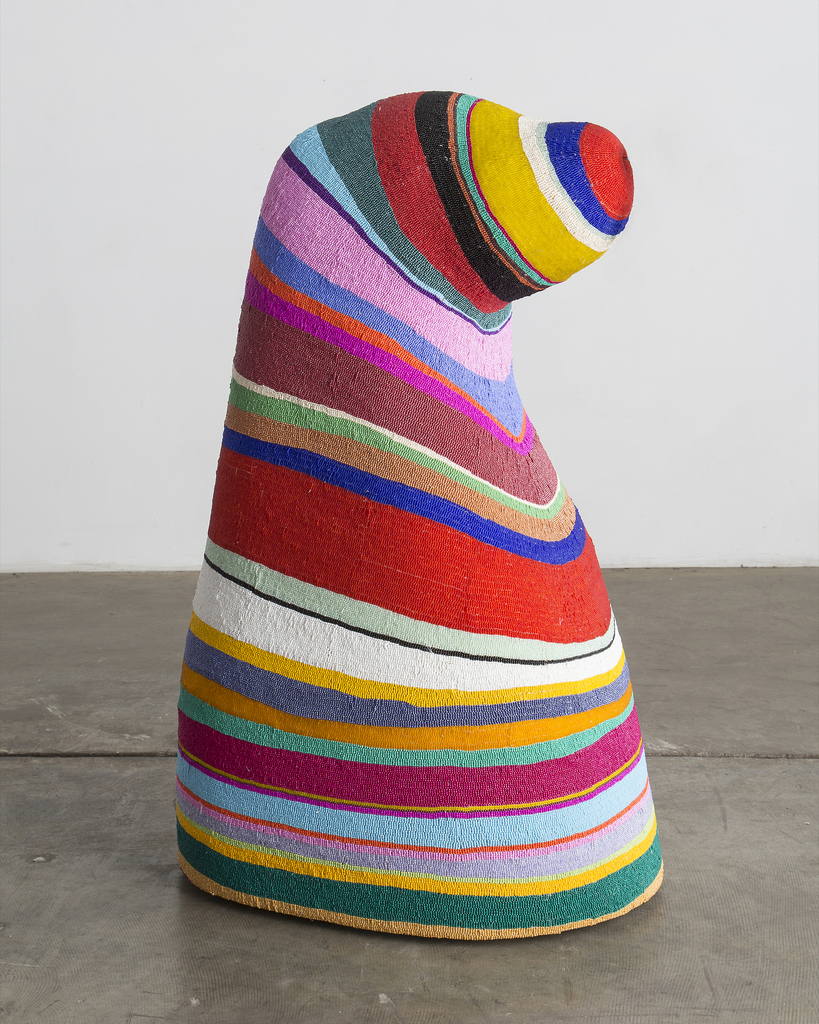 Sculpture, Gomer Pyeland, from the Afreaks series, 2015