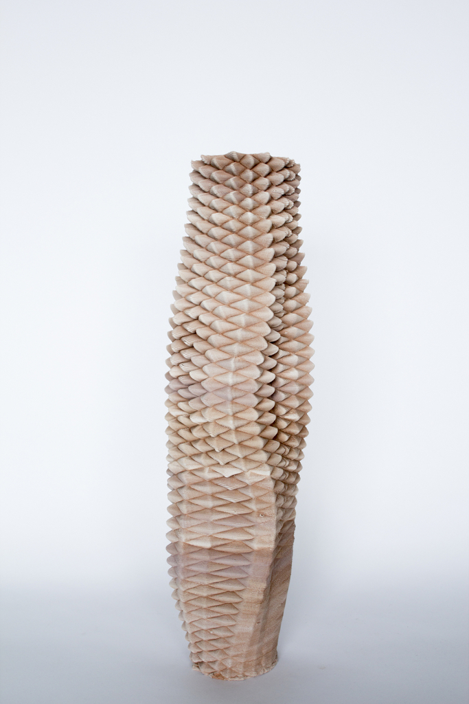 3D-printed Ceramic Vessel, from Sediment collection, 2015