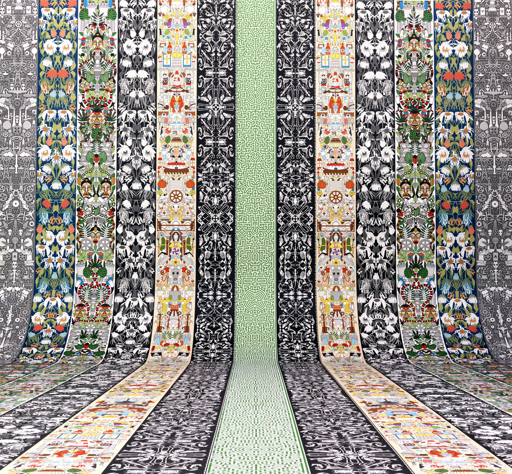 Wallpaper, from Archives collection, 2014