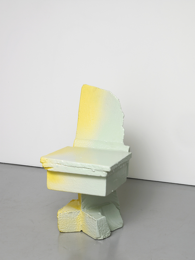 Chair, from Scrap Poly Pastel series, 2014