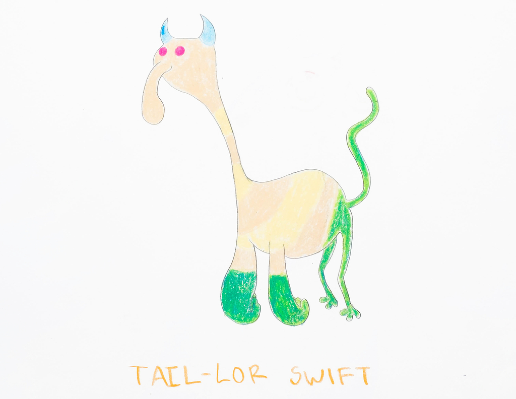 Sketch, Tail-lor Swift, from the Afreaks series, 2015