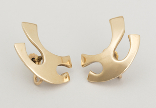 Pair Of Earrings (USA), ca. 1950