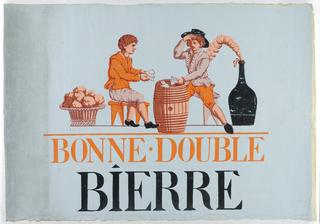 Advertisement, Bonne-Double Bierre