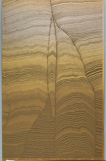One of four panels showing a cliff-like surface. Each part of a modular design, usable individually or in a series to create a panorama.