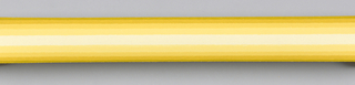 Yellow band in center with yellow bands deepening in hue toward edges on either side of center. Duro-Stripes.
