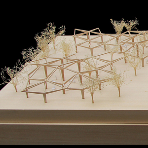Scale Model (1:150), Forest Building, 2015