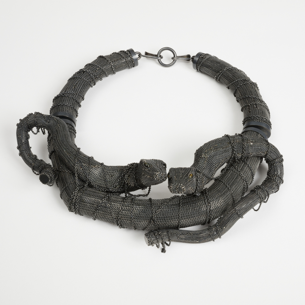 Necklace, Jungle Twins, from the Jungle collection, 2014