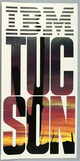 Poster, IBM Tucson