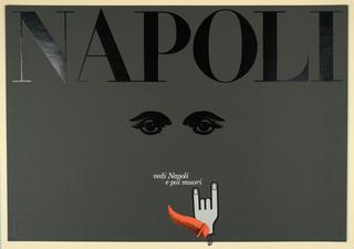 Poster, Napoli,  Vedi Napoli e poi Muori [See Naples and Die]