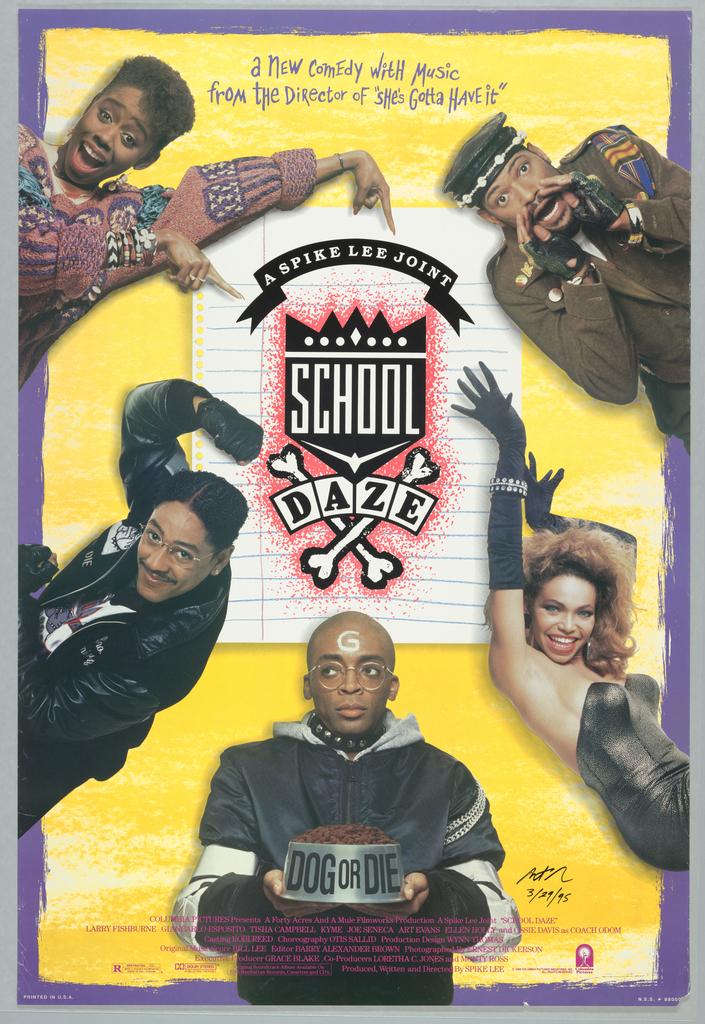 Poster, School Daze