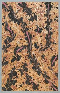 Decorated Paper, Marbled paper: Ebru, ca. 1988