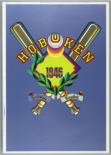 Poster, Poster for Hoboken, Birth, ca. 1990