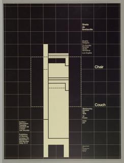 Poster, Sheila de Bretteville: Ch, 1974