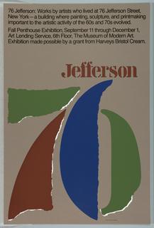 Poster, 76 Jefferson
