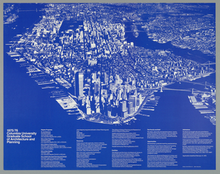 Poster, Columbia University Gradu, 1975–76