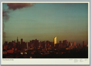 Poster, The World of Otis, Citicorp Building, N.Y.C.