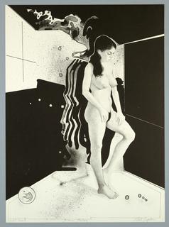 Print, Standing Woman