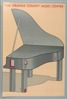 Poster, The Orange County Music Center, 1979