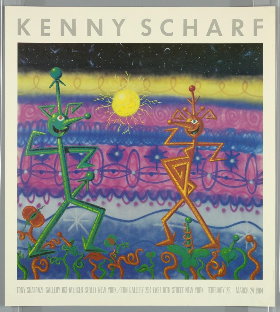 Poster, Kenny Scharf / Tony Shafrazi Gallery