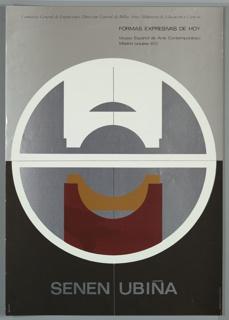 Poster, Senen Ubiña, 1972