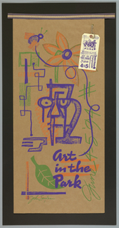 "Poster, ""Art in the Park,"" Poster, 1994"
