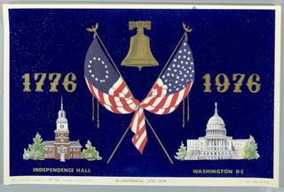 Poster, 1776-1976 Bicentennial, G.Y. Industries, 1975