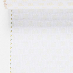 """Sample book with a photograph of two draped lengths of """"Alhambra"""" on the cover. Contains fourteen colorways of """"Alhambra""""."""