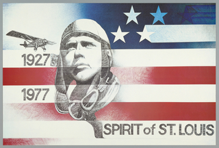 Poster, Spirit of St. Louis, 1977