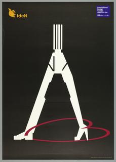 Poster, International Design Center Nogoya: Fukuda