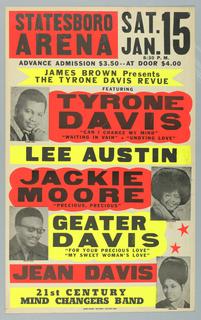 Poster, Statesboro Arena