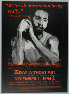 Poster, Day without Art