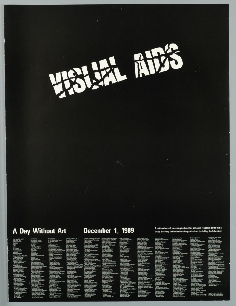 Poster, A Day Without Art